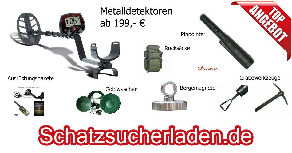 Schatzsucherladen.at - Metalldetektor Fachhandel für